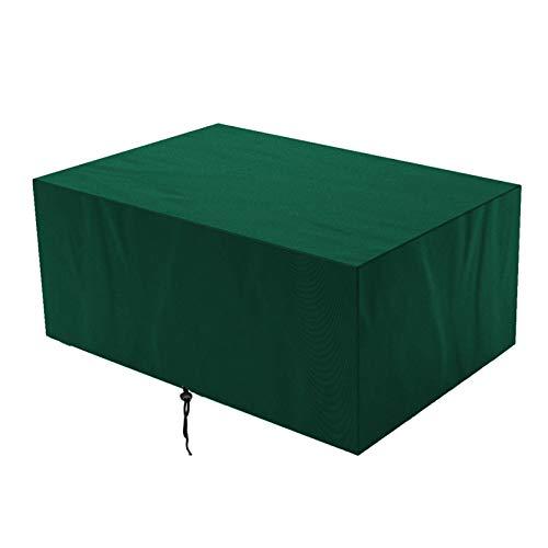 GAOQIANGFENG Funda para Muebles de Jardín Impermeable Funda para Mesa Resistente al Polvo Anti-UV Protección, para Mobiliario de Exterior