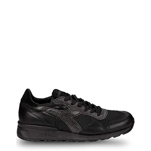 Diadora Herren Sneakers Heritage Schwarz, Modell: Trident, Größe:10