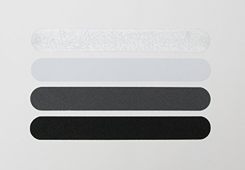Kara Grip Pro Anti-Rutsch Streifen Rolle Innentreppen 5,5 lfm Rolle 3 cm dunkel grau , auch fuer Hund und Kind. Anstatt Stufenmatten od. Treppenteppich als Rutschschutz, Strumpffreundlich