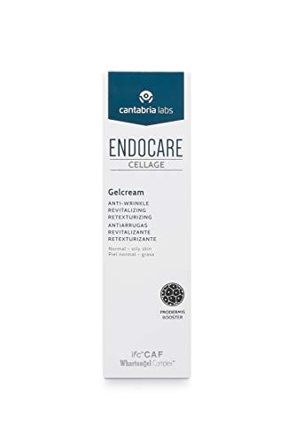 Endocare Cellage Gelcream - Crema Antiarrugas, Antiedad, Redensificante, Retexturizante, en Textura Gel, Ligera y Fluida, para Todo Tipo de Pieles, 50ml