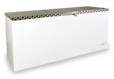 Capital Midas 650 Chest Freezer | A+ Rated | Stainless Steel Lid