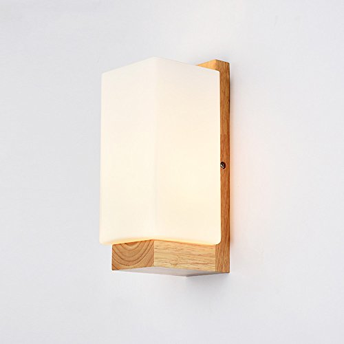 JJZHG wandlamp wandlamp waterdichte wandverlichting wandlamp slaapkamer nachtwandlamp warmloopverlichting LED-lampen hotel,3W bevat: Wandlamp, stoere wandlampen