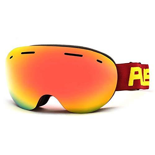 LOLIVEVE Esquí De Invierno Gafas Lentes De Doble Capa Lentes Antiniebla Snowboard Gafas De Skate Hombres Mujeres Uv400 Snow Ski Gafas De Motos De Nieve