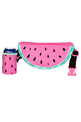 Watermelon 3D Fanny Pack with Drink Holder