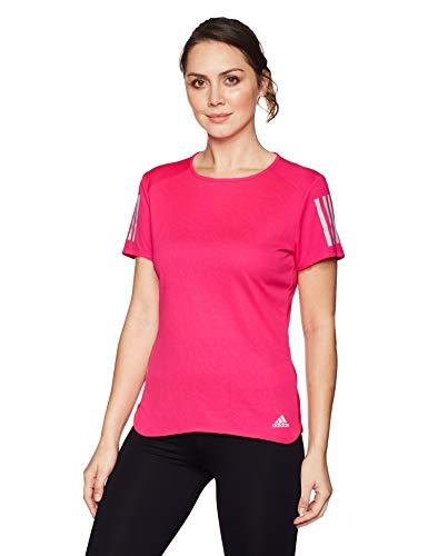 adidas Damen RS SS TEE W Kurzarm T-shirt, Rosa (Shock Pink), XXS