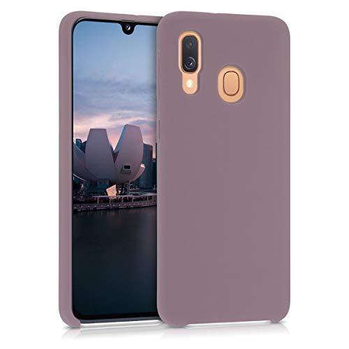 kwmobile Cover Compatibile con Samsung Galaxy A40 - Custodia in Silicone TPU - Back Case Protezione Cellulare UVA