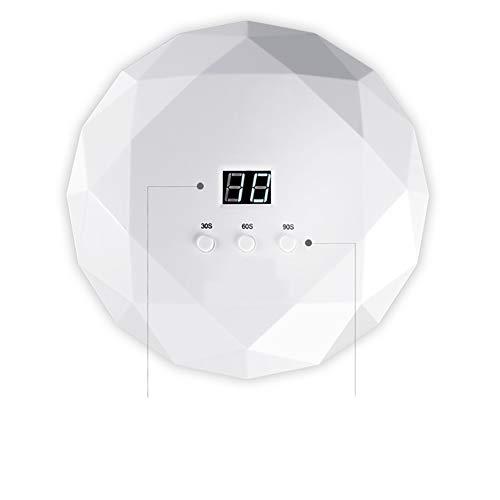 XER UV-led-nagellamp met 3 timer, digitale led-display en USB-stekker geschikt voor gel, polnisch, droger, uithardingslamp
