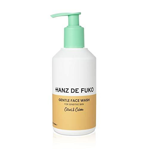 Hanz de Fuko Citrus & Creme Premium Gentle Face Wash: High Performance Facial Cleanser for Sensitive Skin 237ml