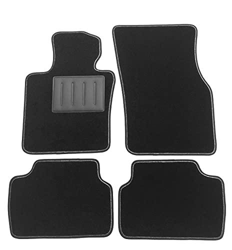 Tappetini MINI COOPER 3-5 porte III serie F55, F56, F57, dal 2014 al 2021 tappeti auto in moquette ,bordo antiscivolo,battitacco in gomma