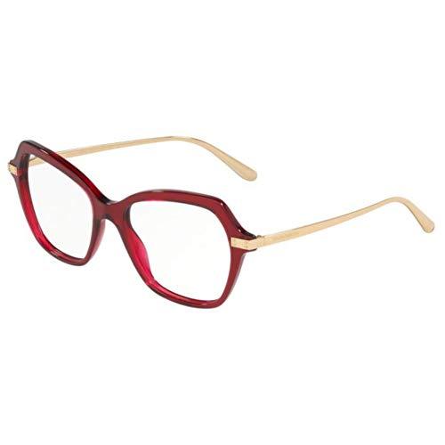 Eyeglasses Dolce & Gabbana DG 3311 3211 Transparent Bordeaux