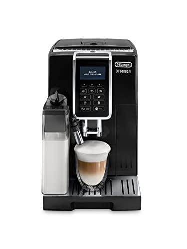 De Longhi Macchina del caffè Dinamica ECAM350.55.B, 1450W, Plastica e Acciaio, Nero