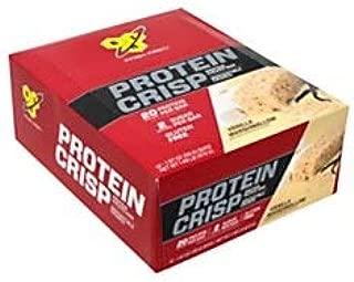 BSN Finish First Protein Crisp Protein Bars, Vanilla Marshmallow, 1.97 Oz, Box Of 12 Bars