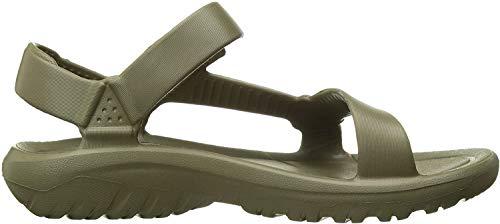 Teva Women's W Hurricane Drift Sport Sandal, Burnt Olive, 10 Medium US