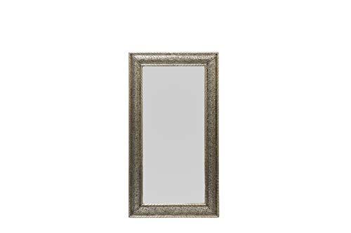 MAYCHOR witte metalen spiegel - (120cm x 65cm)