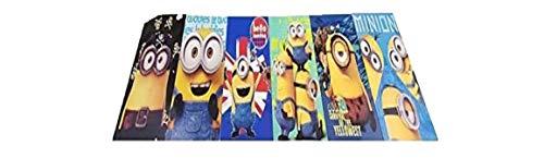 Disney's Minions Party Favor Coloring Book Set (42 Pcs) by Dreamshop14