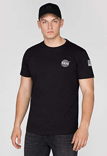 Alpha Industries Space Shuttle T-Shirt Schwarz