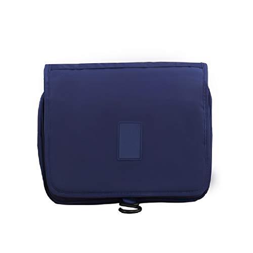 Outdoor Travel Wash Men and Women Sac de Rangement for Fournitures de Grande capacité imperméable Multifonctionnel for cosmétiques FANJIANI (Color : Dark Blue)