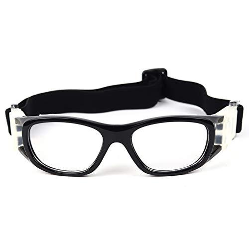 Yopria Basketballbrille Fußball Sportbrille Outdoor Sport Basketball Brille, verstellbare elastisch gewickelte Schutzbrille Basketball Fußballbrille YR21101