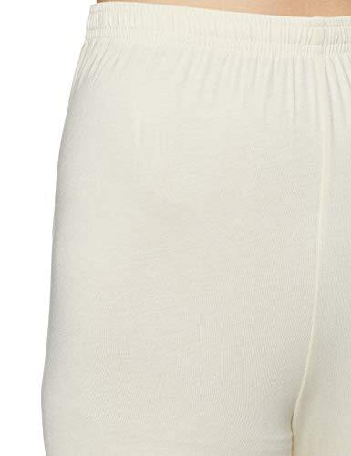 Anahi Women's synthetic chudidar Bottom (271497493_OFFWHITE_XL_IN-29_Off-White