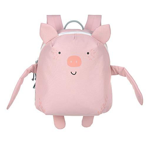 LÄSSIG Kinderrucksack Kindergarten mit Brustgurt ab 3 Jahre/Backpack About Friends, Bo Pig, Schwein, 28 cm, 3,5 L