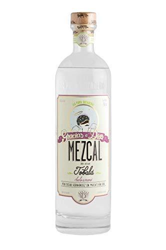 Mezcal GRACIAS A DIOS Tobalá Joven, 100% Agave - Mexikanische Spirituose aus 100% Tobalá-Agave, Flasche 700ml