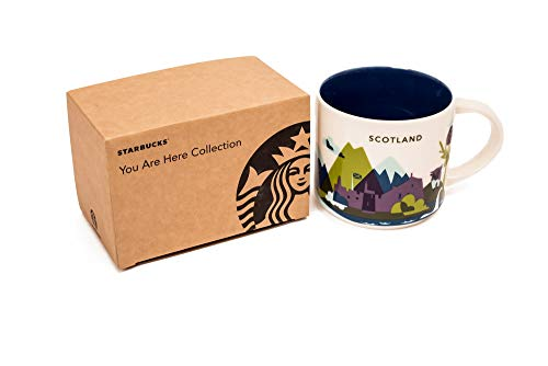 Starbucks taza Edimburgo Escocia Juego de dos demitmug Edimburgo Escocia de café Espresso