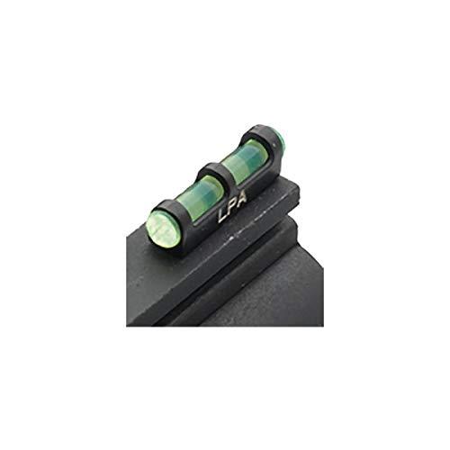 Punto de mira con Base metálica y Rosca de 2,6mm Fibra optica Verde.