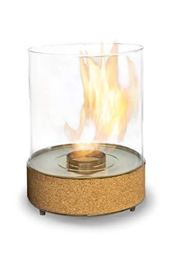 Planika Tanzende Flammen – Tisch-Bioethanol-Kamin – 3,5 Stunden Brenndauer, 2,5 kW Heizleistung – für den Innen- und Außenbereich – kompakte tragbare Dekoration – für Haus und Garten