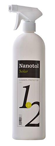 Nanotol Nano-Versiegelung und Reiniger 2in1 für Solar- und Photovoltaik-Anlagen - für 160 m² - höhere Transmission, mehr Leistung, höherer Wirkungsgrad