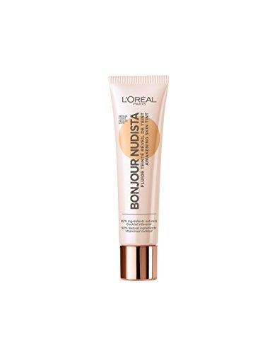 L'Oréal Paris Bonjour Nudista Awakening Skin Tint BB Cream in Dark, verleiht dem Teint ein...