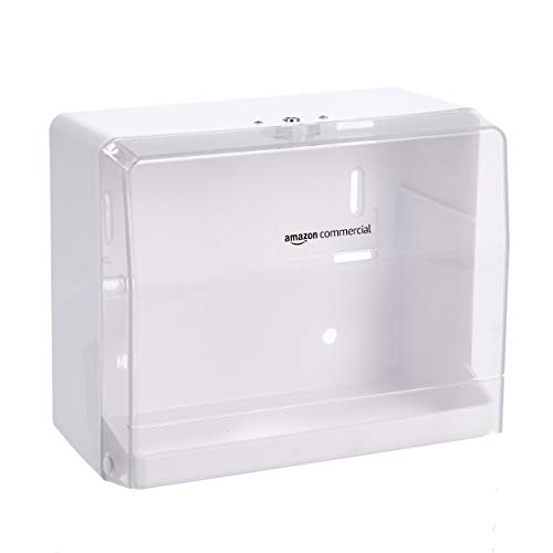 AmazonCommercial - Dispensador de papel, compatible con pliegue en V