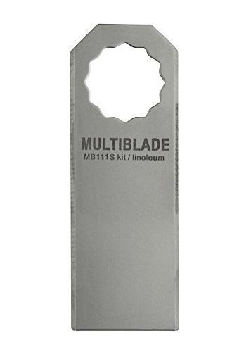 Multiblade SuperCut MB111S recht mes (lijm, kit, linoleum, vilt)