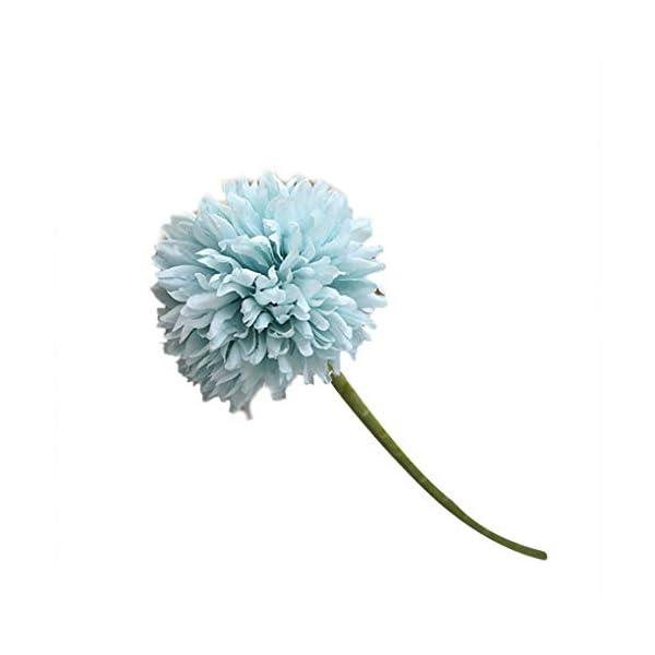 Jinzuke Artificial Crisantemo de Tela Real Touch Falso Flores Inicio Decorativa de la Boda Flores de simulación
