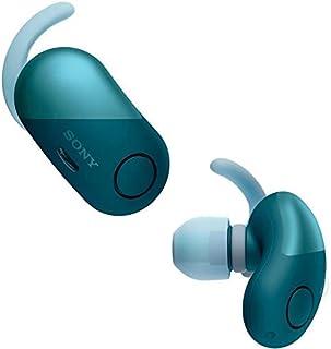 【工場再生品】Sony ソニー WF-SP700N Blue ブルーイヤホン ワイヤレスノイズキャンセリングステレオヘッドセット [並行輸入品]
