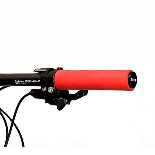 DBSUFV Odi Soft Compound Puños Stunt Scooter BMX MTB Bicicleta de montaña Comodidad y Control excepcionales (Rojo)