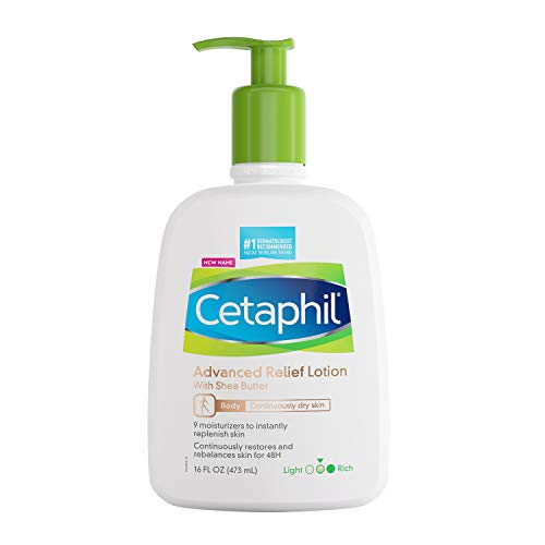 Cetaphil Daily Advance Ultra Hydrating Lotion With Shea Butter For Dry, Sensitive Skin, Multi, Fragrance Free, 16 Fl Oz, (Pack of 1)