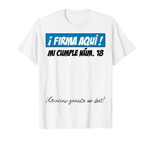 18 Años Cumpleaños Chico Chica Hombre Mujer Regalo Divertido Camiseta