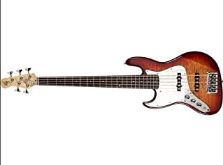$1075 » Element 5Q 5-String Electric Bass Guitar (Aged Cherryburst)
