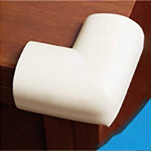 SUNMU 10 stks/partij 5.5x5.5cm Zachte Tafel Bureau Hoek Beschermer Baby Veiligheid Edge Hoek Bescherming voor Kinderen Babybaby Tape Kussen Beige