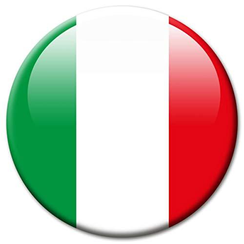 Kühlschrankmagnet Flagge Italien Magnet Länder Flaggen Reise Souvenir für Kühlschrank stark groß 50 mm