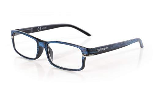 Distinguo lampa Caravaggio, leesbril - Singola gradatie - +1.5 - blauw-zwart
