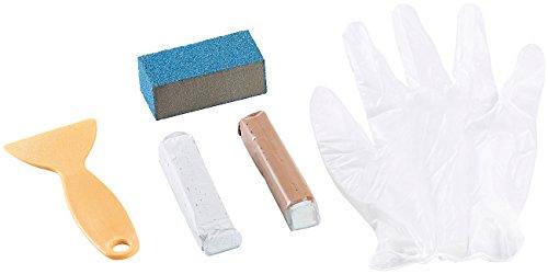AGT Emaille Reparatur: Sanitär-Reparaturkit für Bad, Dusche, Wannen & WC (Email Reparatur)