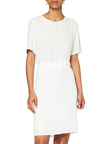 SELECTED FEMME SLFTANNA SS Dress B Vestido, Blanco (Snow White Snow White),...