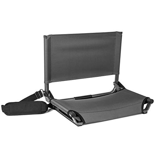 Cascade Mountain Tech Stadium Seat - Lightweight, Portable Chair for Bleachers and Benches - Extra Wide 20