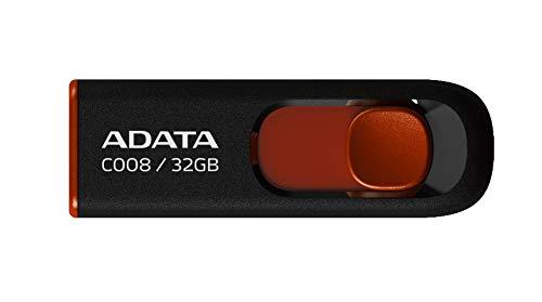 ADATA Classic Series C008 32 GB USB 2.0 Flash Drive AC008-32G-RKD (Black)