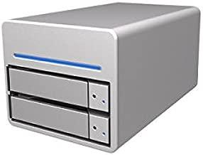 Stardom ST2-WB3 3.5 in. Two Bays RAID Storage Enclosure