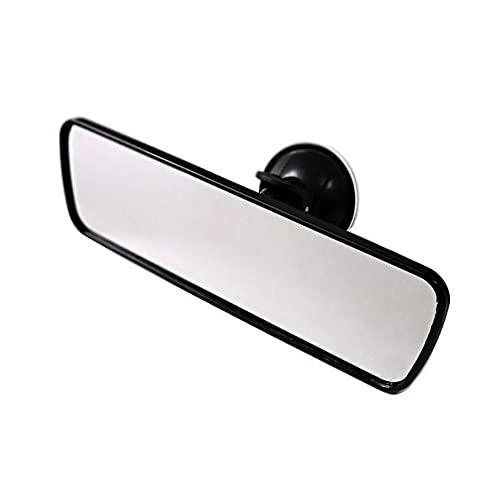 SENZHILINLIGHT Espejo retrovisor interior del coche espejo de observación del bebé lechón espejo plano entrenador interior auxiliar espejo de marcha atrás