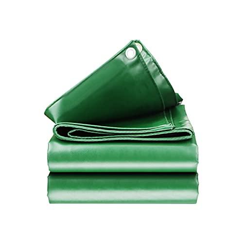 Oikupe Blumengarten im Freien Schattennetz-Plane-Hochleistungs-wasserdichte Plane LKW-Planen-Blatt-Premium-Qualitäts-Abdeckungs-Plane für Outdoor-Camping,2.9x3.9m