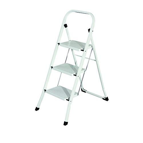 MAURER 23010105 Escalerilla Acero 3 Peldaños Uso Doméstico