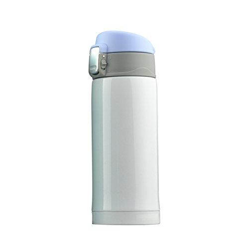 Asobu V606 white Botella-Termo Mini-Diva, Acero Inoxidable